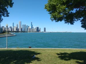 View of downtown Chicago from Northerly Island, Chicago